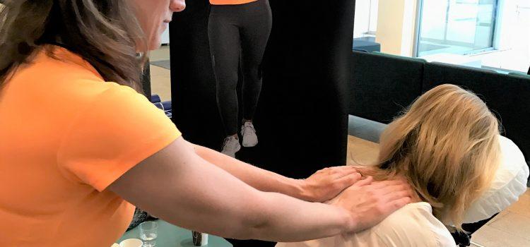 Där livet händer funkar massage #företagsmassage