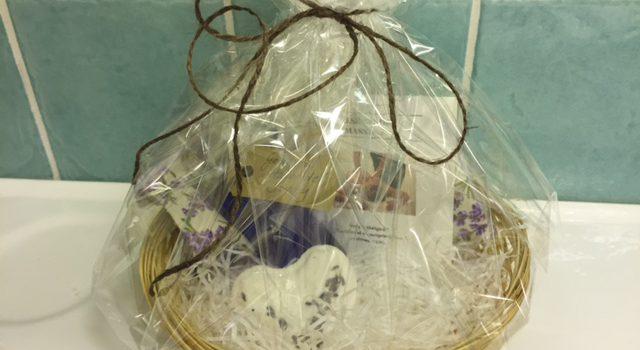 Lavendel och massage en kraftfull gåva